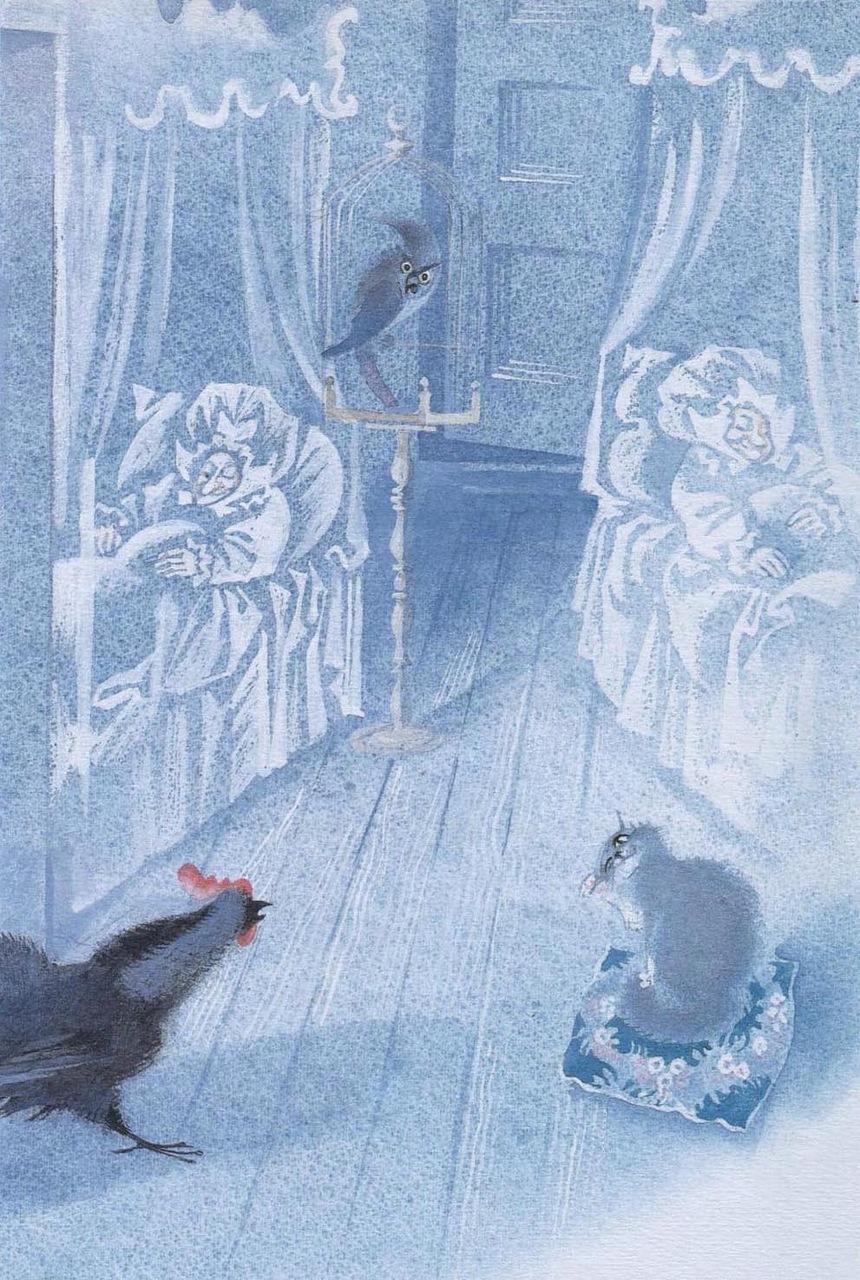 Сказка Черная курица, или Подземные жители