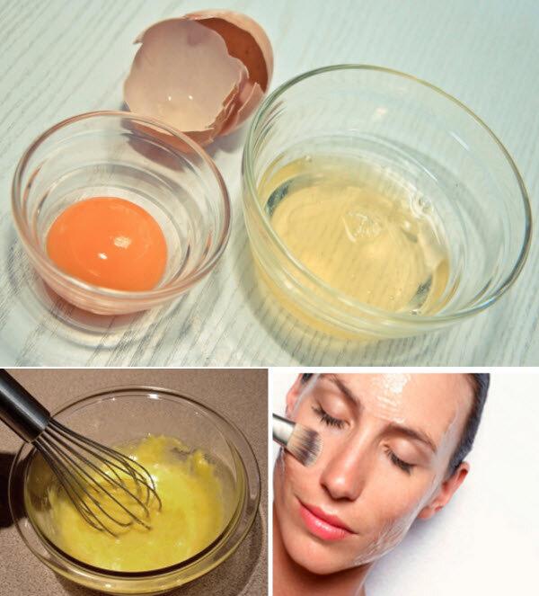 Маски для лица из яичного желтка