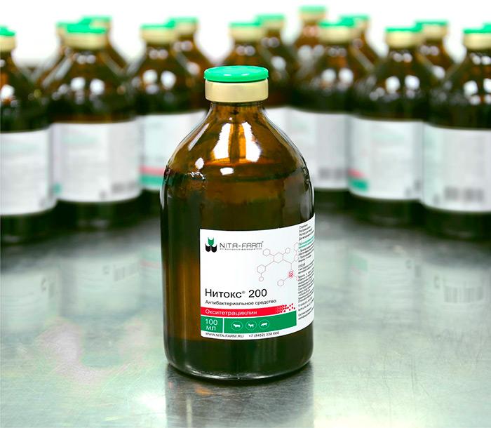 Лексофлон OR - антибиотик для лечения заболеваний бактериального происхождения кур и свиней