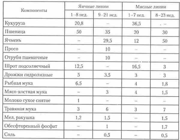 Комбикорм для цыплят ПК 2 и ПК 3: состав, с какого возраста и как давать