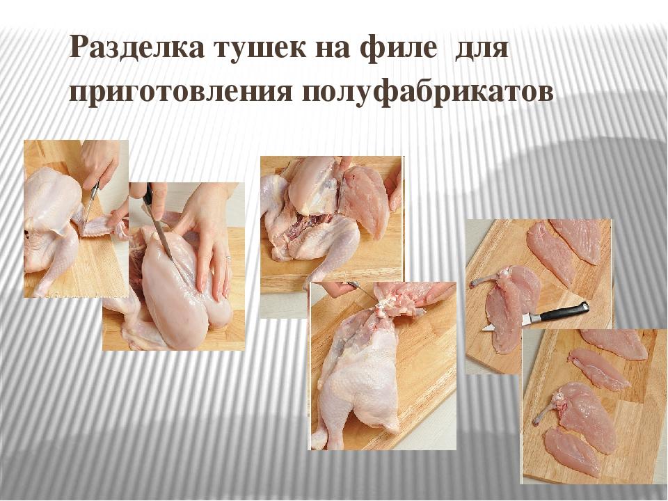 Части курицы: их названия, способы разделки тушки и необходимые инструменты