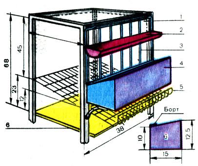 Изготавливаем клетки для несушек