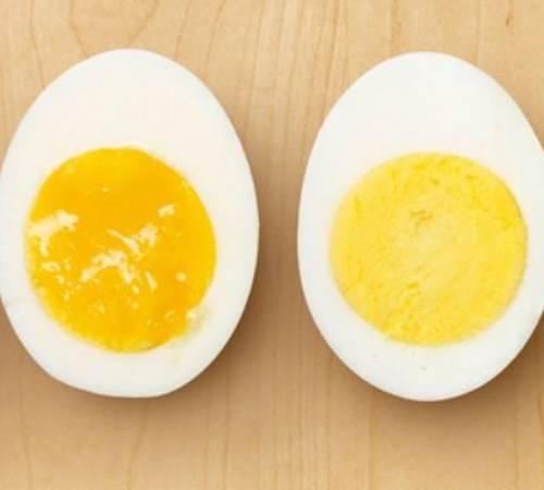 Как легко очистить свежие яйца?