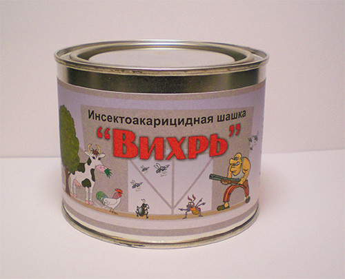 Шашки для дезинфекции курятника