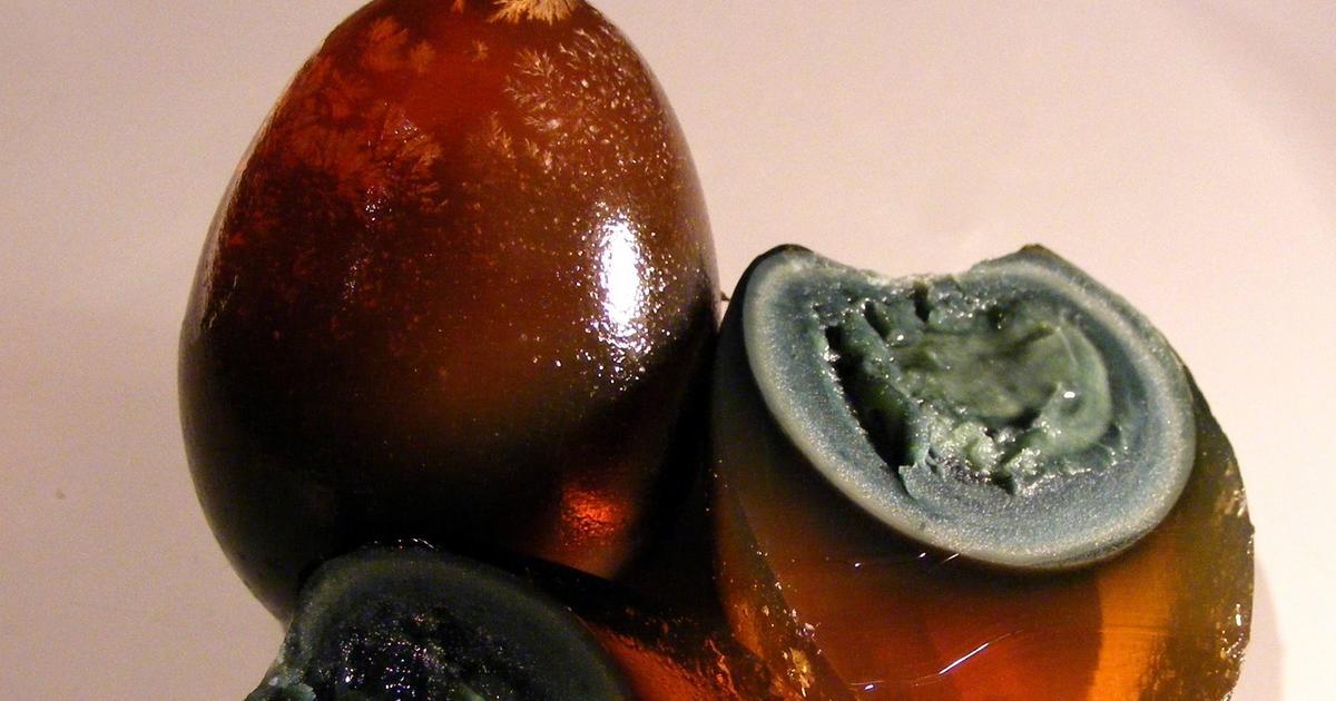Столетнее яйцо – что это, какое на вкус, рецепт и отзывы