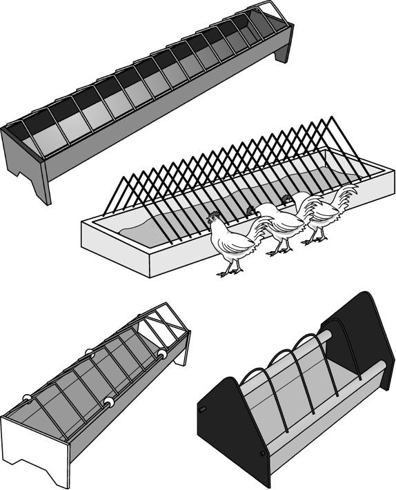 ТОП-15 кормушек для кур: рейтинг лучших бункерных, навесных и лотковых вариантов
