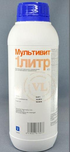 Мультивит – инструкция по применению для животных. Показания и дозировки