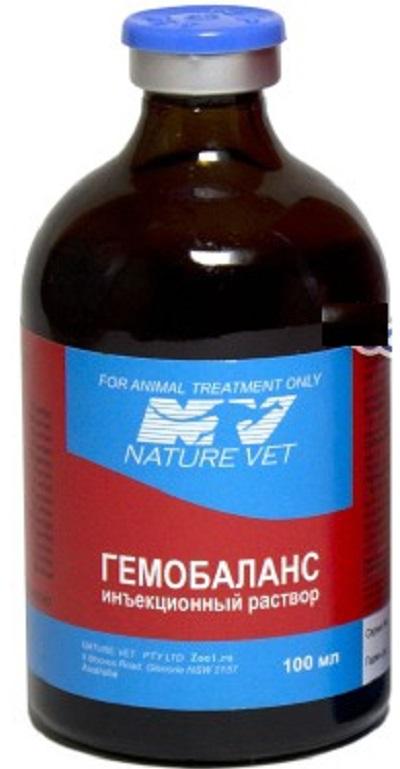 Гемобаланс – инструкция по применению для кошек, собак, птиц, дозировки, схема