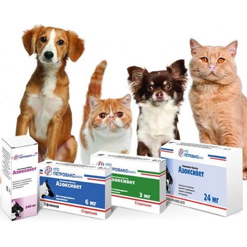 Азоксивет — инструкция по применению в ветеринарии для птиц и животных