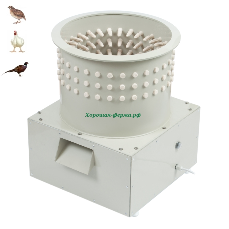 Как облегчить жизнь птицеводу – перосъемная машина для перепелов