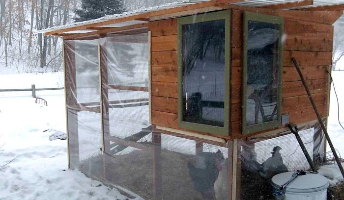 Как построить теплый курятник на зиму своими руками — инструкция с фото и видео