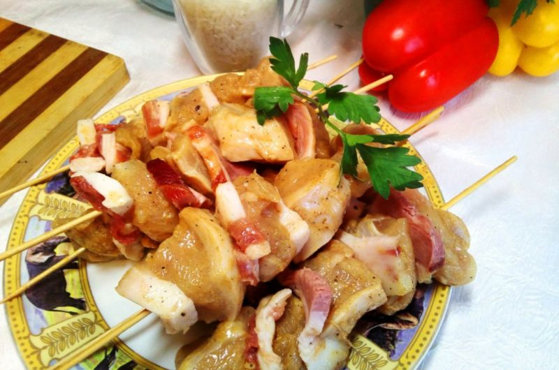 Как замариновать шашлык из курицы рецепты маринадов