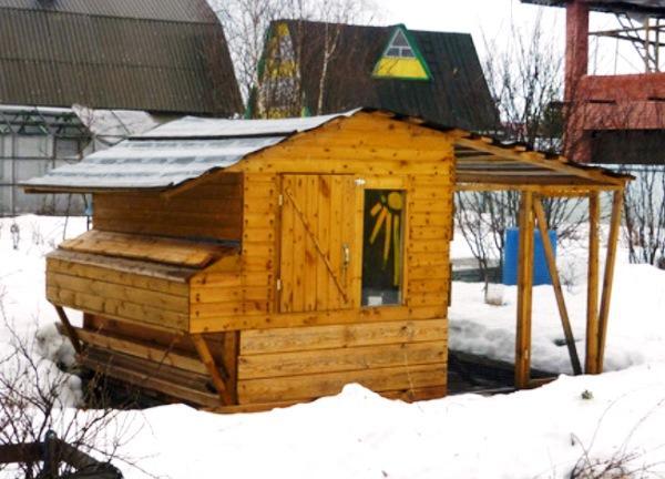 Капитальный курятник для зимы и лета