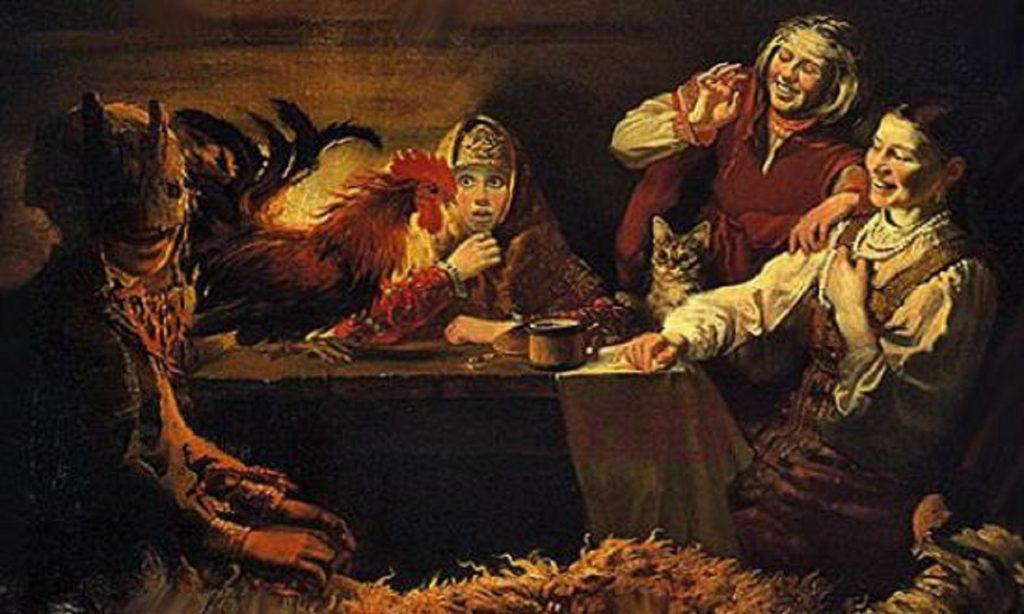 Гадание на курах в Рождество и Крещение