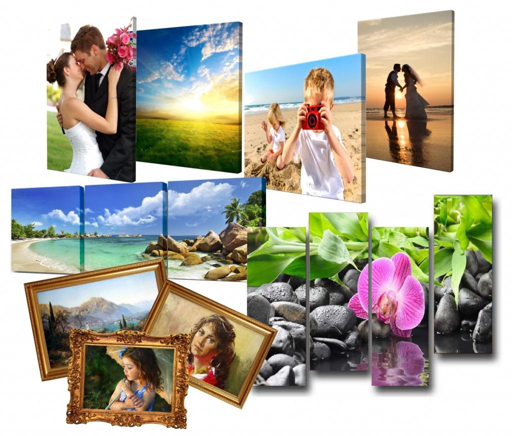 Преимущества фотопечати на холсте
