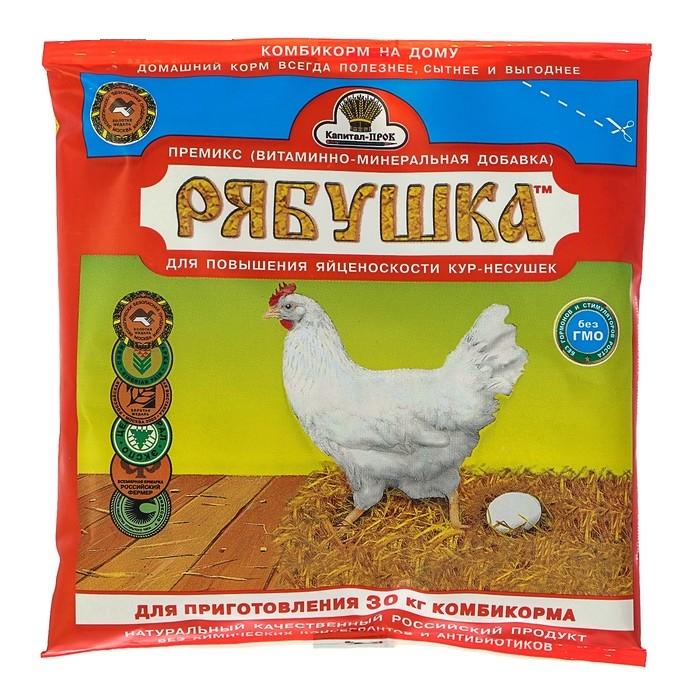 Премиксы и витаминные комплексы в кормлении кур