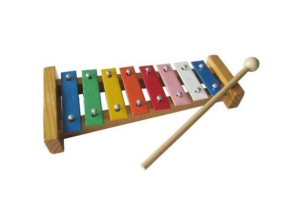 Ксилофон курам как способ развлечения зимой