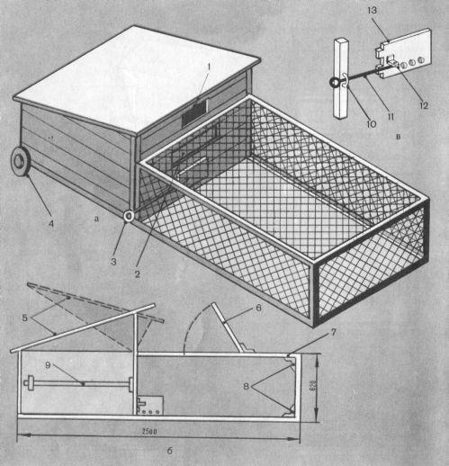 Птичник для уток своими руками — как построить и оборудовать
