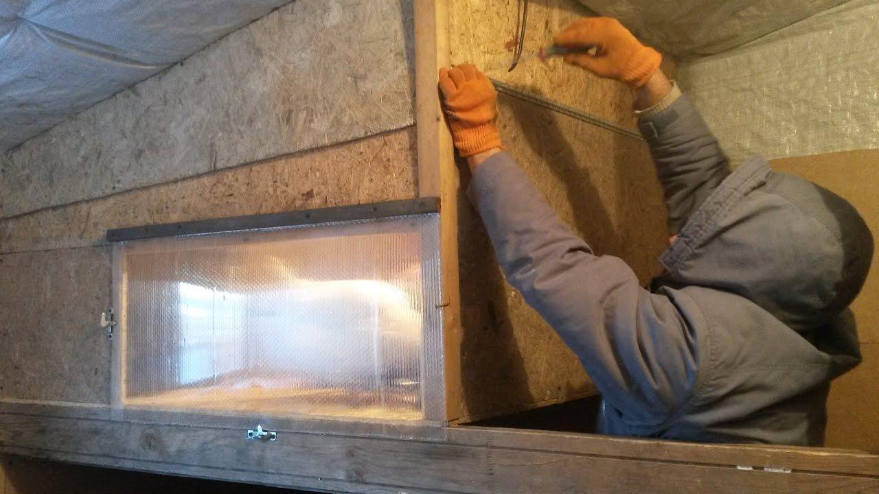 Способы утепления курятника, их достоинства и недостатки