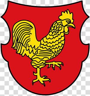 Петух в геральдике и курица в гербах, национальных символах