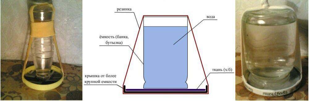 Инструкция по изготовлению поилки для индюшат
