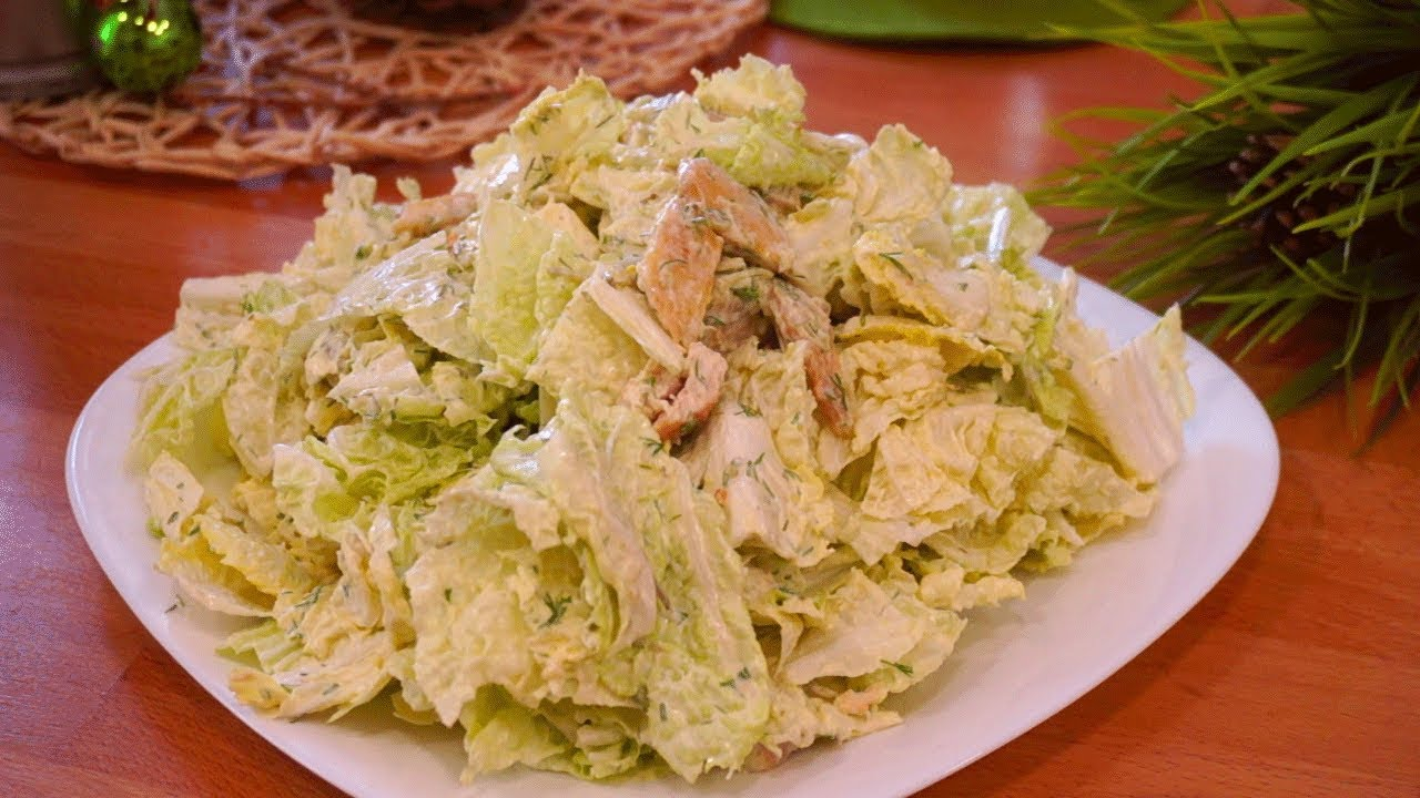 Салат с курицей — 33 рецепта с фото и видео